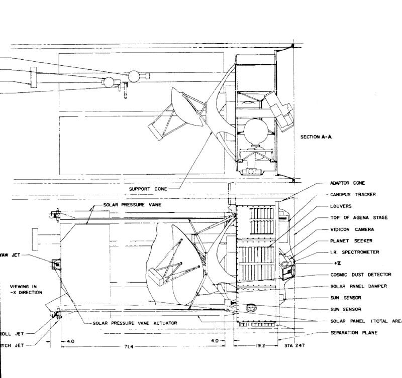 Maquette Mariner 4  Marine10