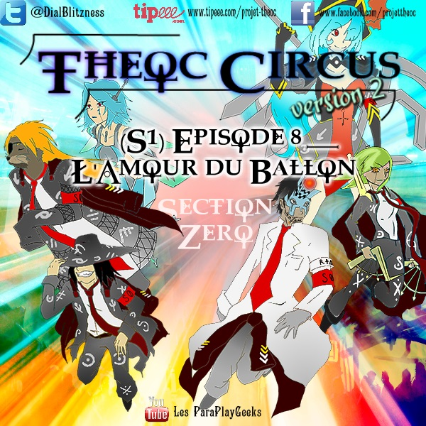 Theoc Circus v2 épisode 1 à 12 ! S1ep8-10