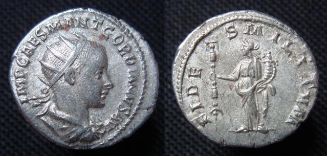 antoninien Gordien - Fides Militvm - Antioche Antoni11