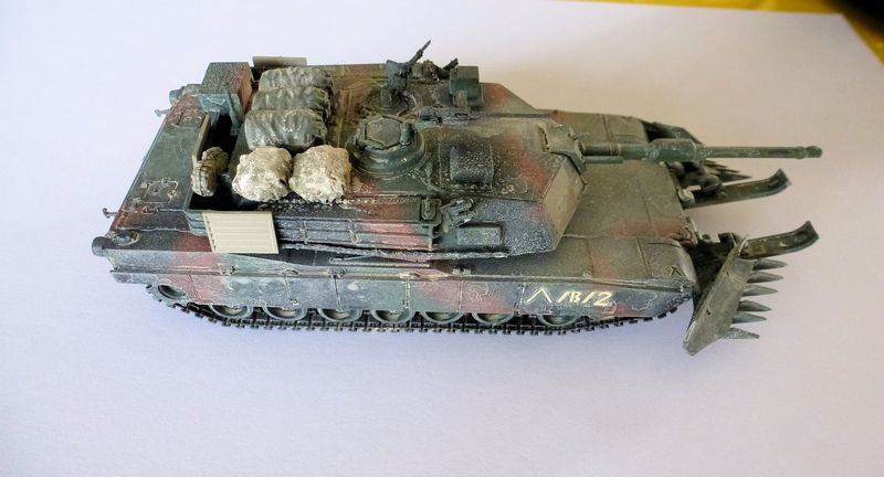M1 Abrams première génération M1a1_a11