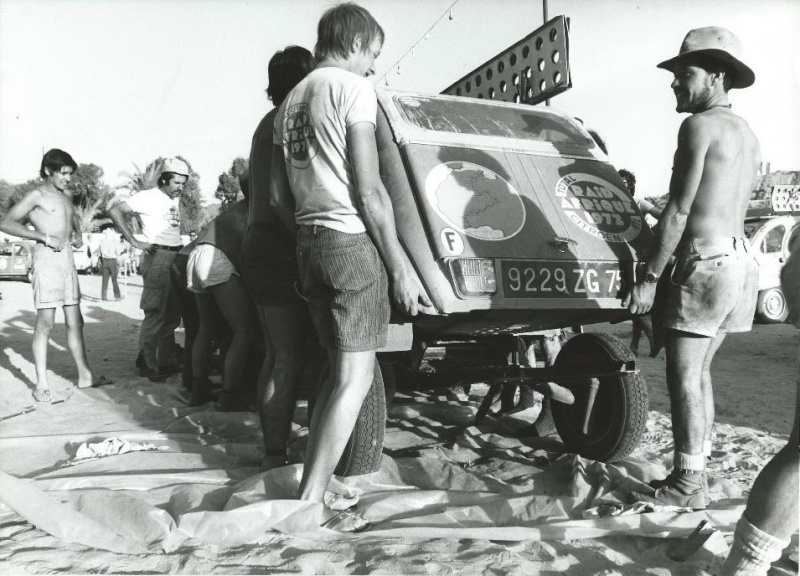 Les BERLIET et 2cv du RAID AFRIQUE 1973 Capt2013