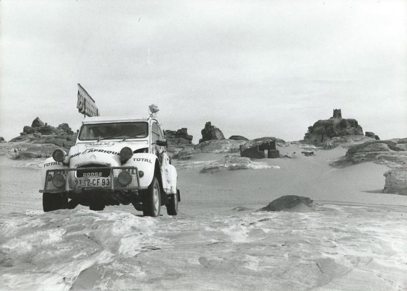 Les BERLIET et 2cv du RAID AFRIQUE 1973 Capt2016