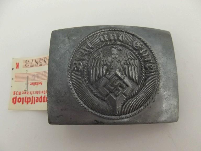 Boucle HJ (zinc) avec étiquette RZM - RZM M4/45 Dscf0112