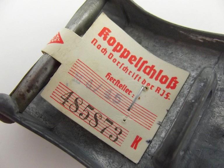 Boucle HJ (zinc) avec étiquette RZM - RZM M4/45 Dscf0114