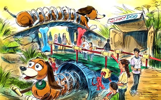 [Disney's Hollywood Studios] Toy Story Land (30 juin 2018) Slinky10
