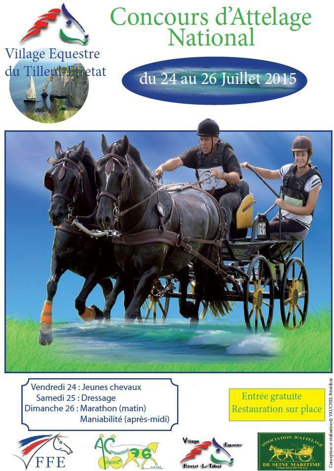 """24, 25 et 26 juillet 2015 - CCA """"Tilleul-Etretat"""". Reportage avec diaporama! Affich10"""