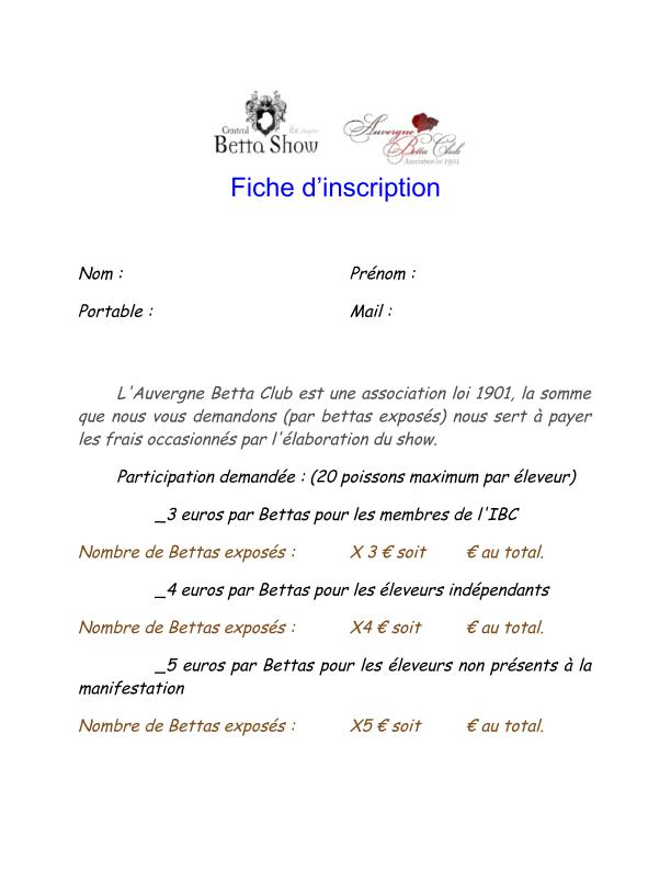 Auvergne Betta Club (ABC) show betta chapter IBC 2015 Fiche_10