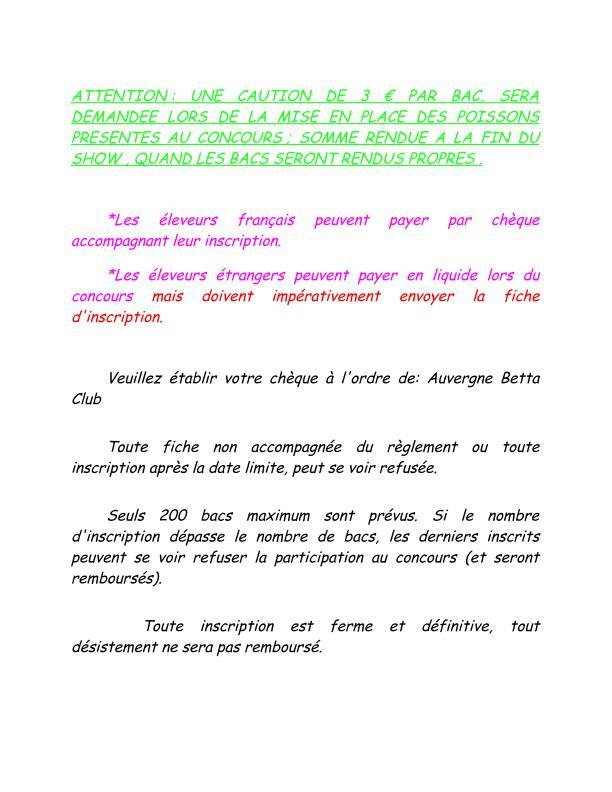 Auvergne Betta Club (ABC) show betta chapter IBC 2015 Fiche_11