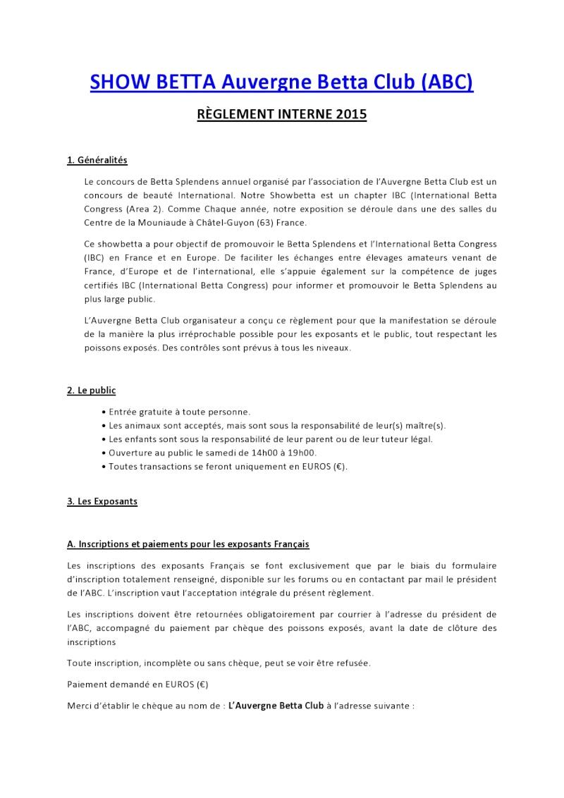Auvergne Betta Club (ABC) show betta chapter IBC 2015 Ryglem10