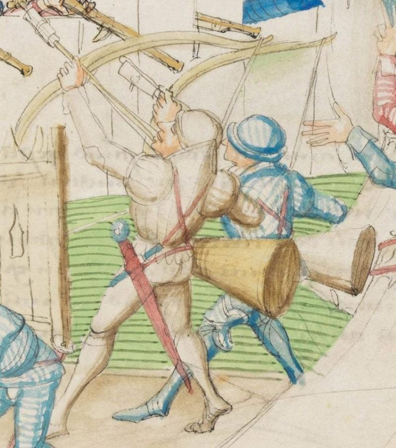 représentations d'archers 15ème Archer15