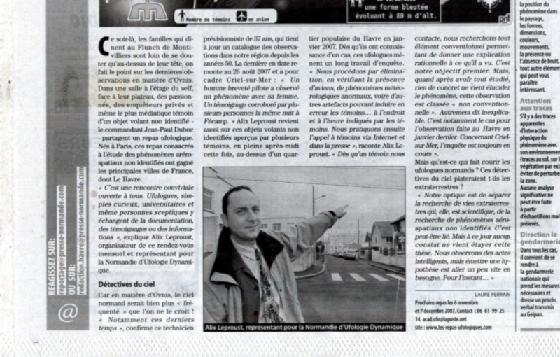 article sur les OVNIs de la presse normande , paris normandi Page_111