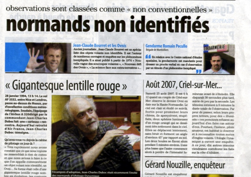 article sur les OVNIs de la presse normande , paris normandi Page_210