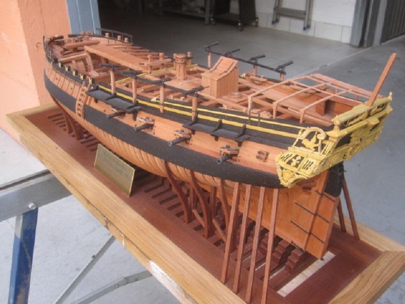 """Construction du """"Sovereign of the Seas"""" au 1/84 par Glénans - Partie I - Page 5 Salama12"""