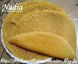 بغرير / Morrocan Baghrir (Beghrir) or Moroccan Pancakes / Crêpes Marocaines aux Mille Trous Img_1410