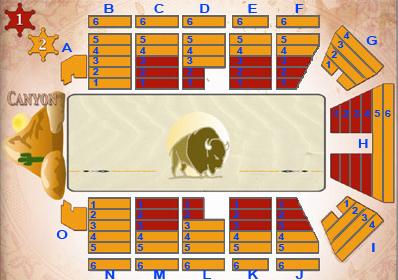 [Dîner-spectacle] La Légende de Buffalo Bill ... avec Mickey et ses amis ! - Page 5 Planbu11