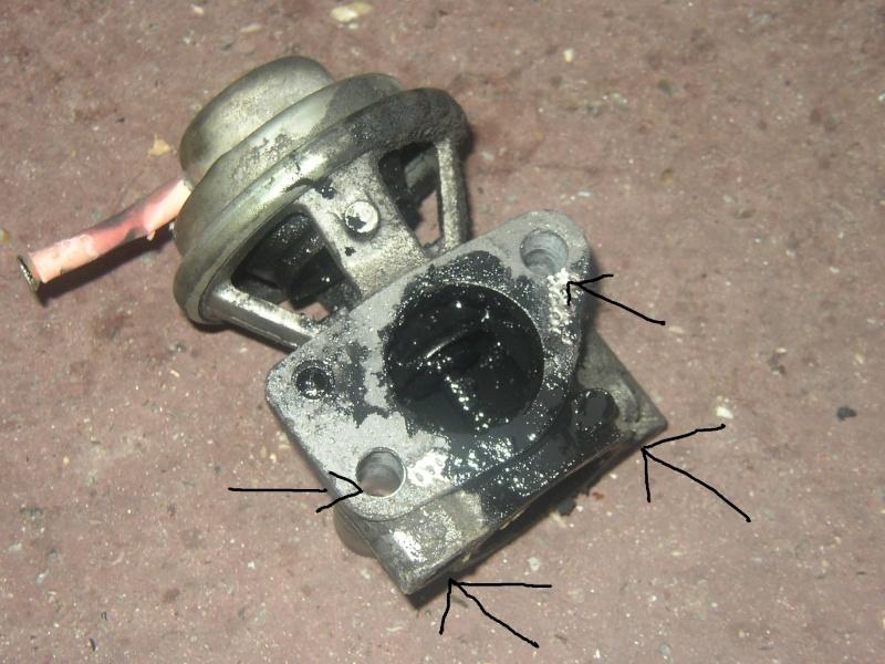 nettoyage valve EGR bravo td 75 Photo_13