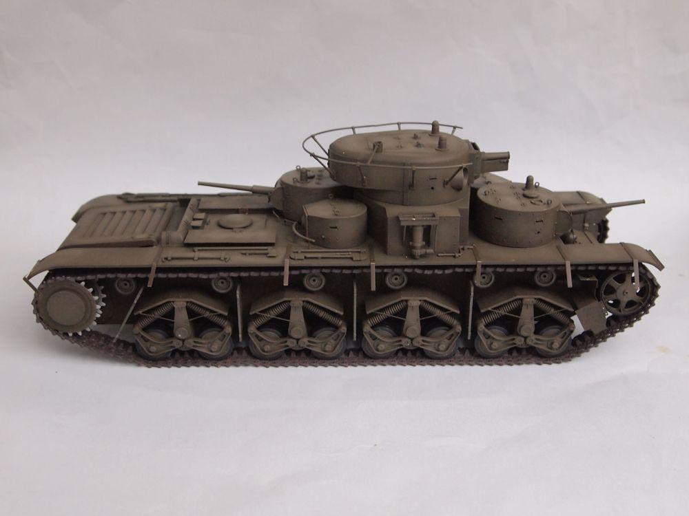 T-35 début de production [Hobby Boss ref 83841 echelle 1/35): la peinture Mon1013
