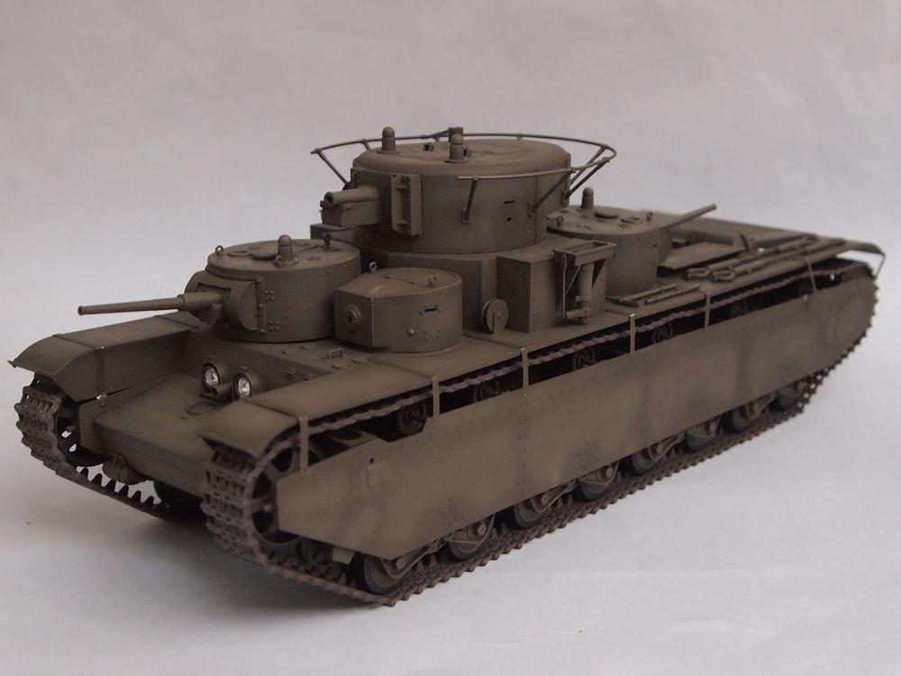 T-35 début de production [Hobby Boss ref 83841 echelle 1/35): la peinture Mon1211