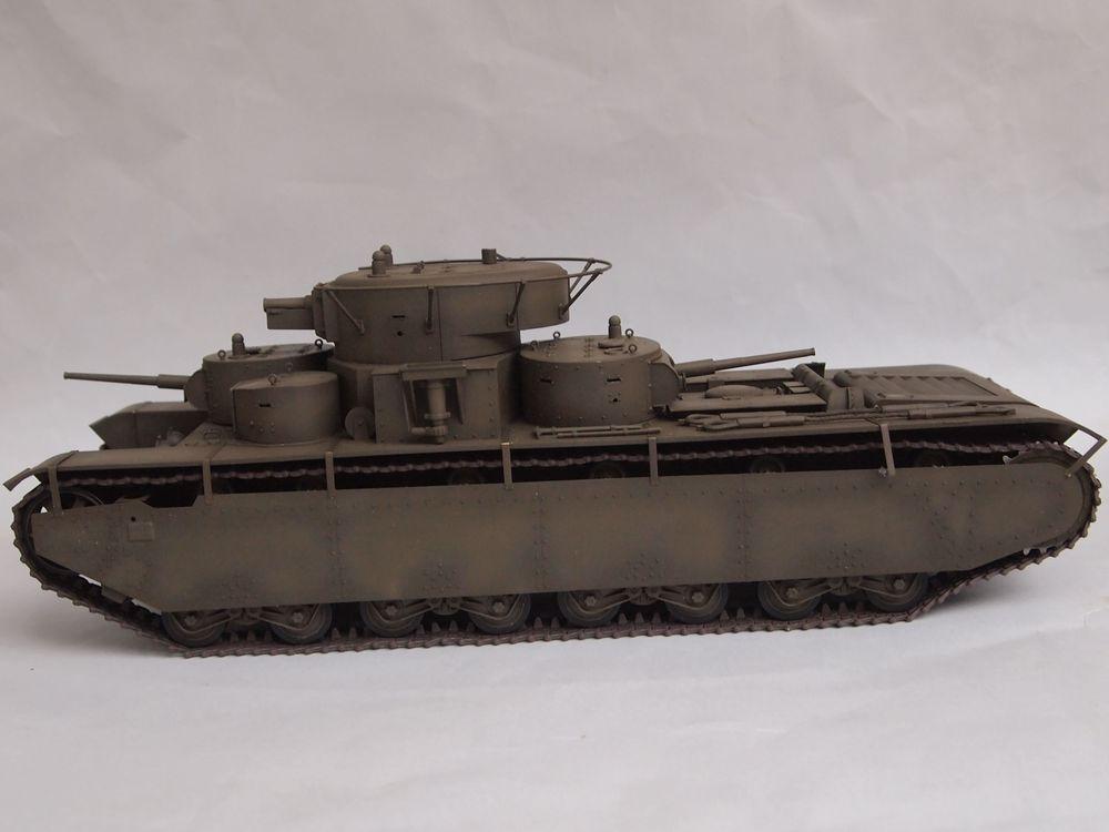 T-35 début de production [Hobby Boss ref 83841 echelle 1/35): la peinture Mon1311