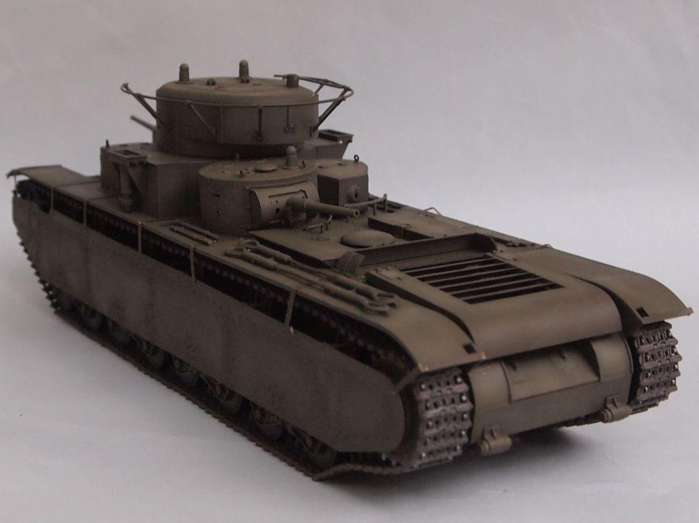 T-35 début de production [Hobby Boss ref 83841 echelle 1/35): la peinture Mon1411