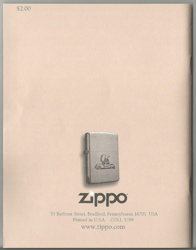 ZIPPO Lighter Collector's Guide Guide210