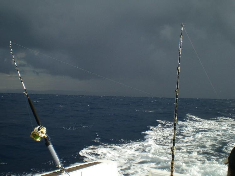 Mare mosso,pioggia e nuvole viola Grecal11