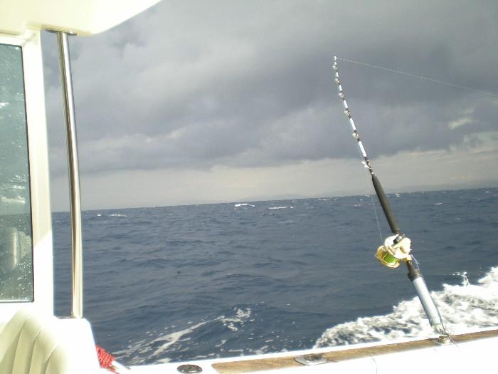 Mare mosso,pioggia e nuvole viola Grecal12