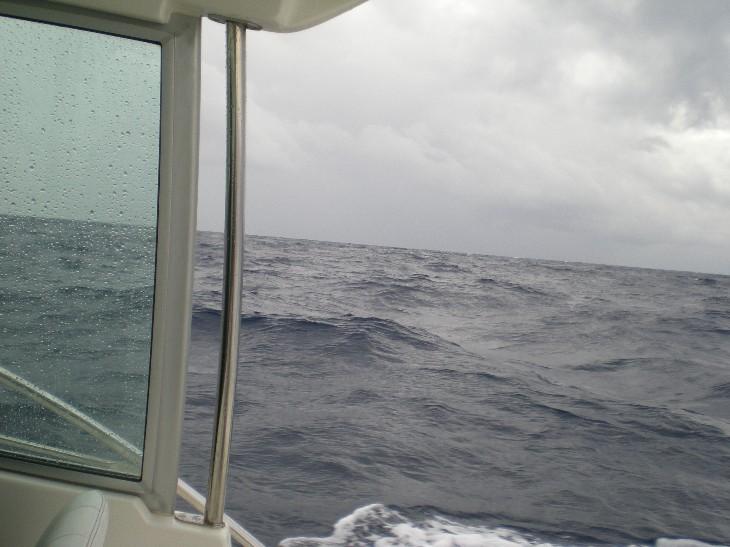 Mare mosso,pioggia e nuvole viola Grecal13
