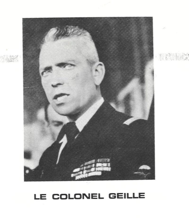 Fred Geille - Promoteur du Parachutisme Militaire en France Geille10