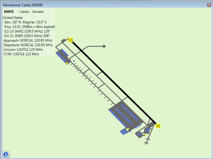 vol liner aux instruments KMFR-KMER Kmer10