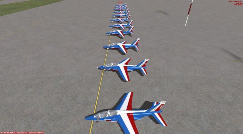 patrouille Alpha jet anni FSX - FRANCE Patrou10