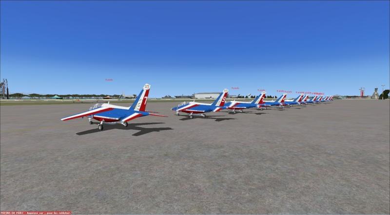 patrouille Alpha jet anni FSX - FRANCE Patrou11
