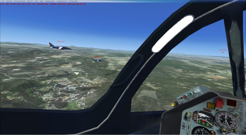 patrouille Alpha jet anni FSX - FRANCE Patrou16