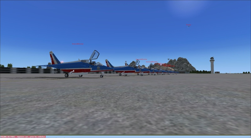 patrouille Alpha jet anni FSX - FRANCE Patrou18