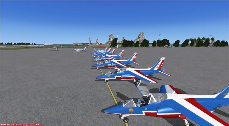 patrouille Alpha jet anni FSX - FRANCE Patrou20