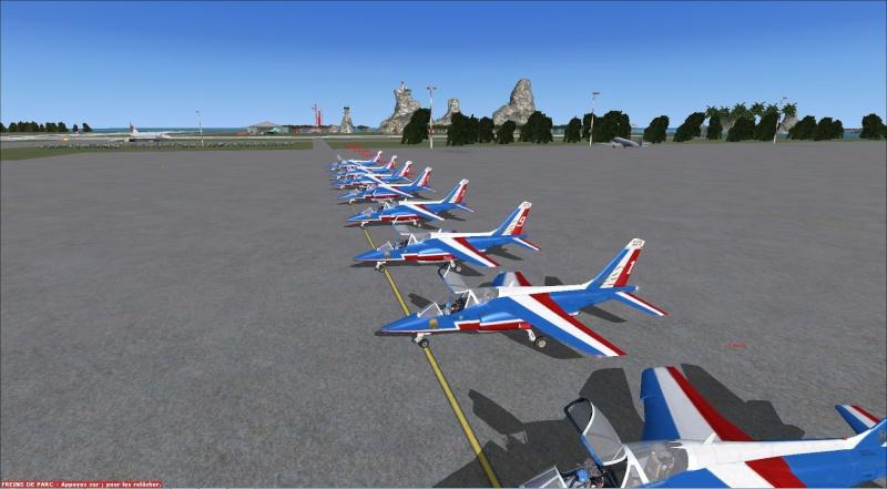 patrouille Alpha jet anni FSX - FRANCE Patrou22