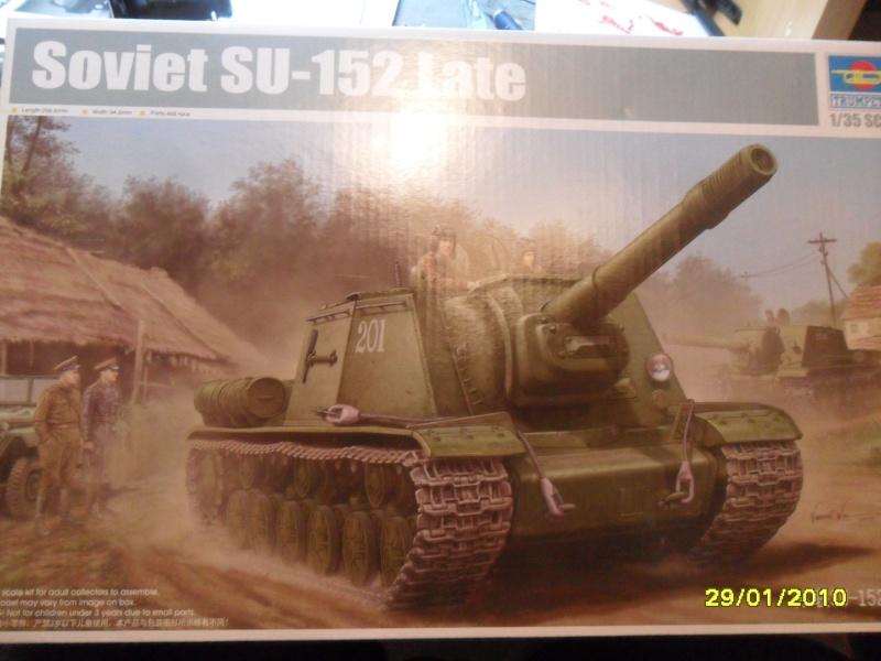 SU-152 LATE Trumpeter 1/35 Sam_4925