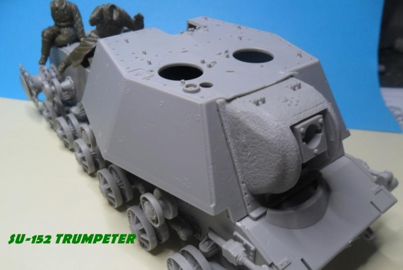 SU-152 LATE Trumpeter 1/35 - Page 2 Sam_5049