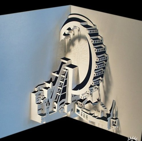 Awesome Paper Art Att00012
