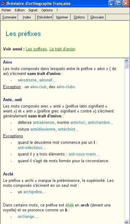 Bréviaire d'Orthographe Française : BOF Bof_210