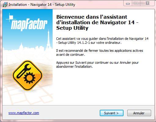 NavigatorFree / MapFactor / PC Navigator Captur32