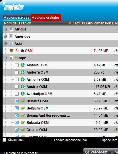 NavigatorFree / MapFactor / PC Navigator Captur33