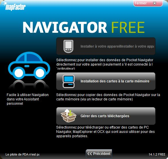NavigatorFree / MapFactor / PC Navigator Captur37