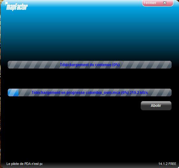 NavigatorFree / MapFactor / PC Navigator Captur39