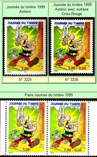 Philatélie : Les timbres de France Captur45