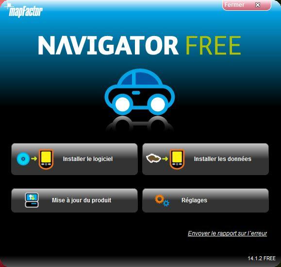 NavigatorFree / MapFactor / PC Navigator Instal10