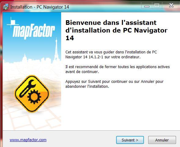 NavigatorFree / MapFactor / PC Navigator Instal13