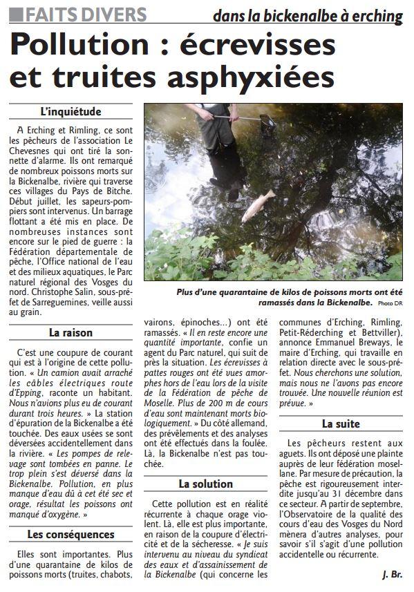 Pollutions constatés sur nos rivières et fleuves Pollut10