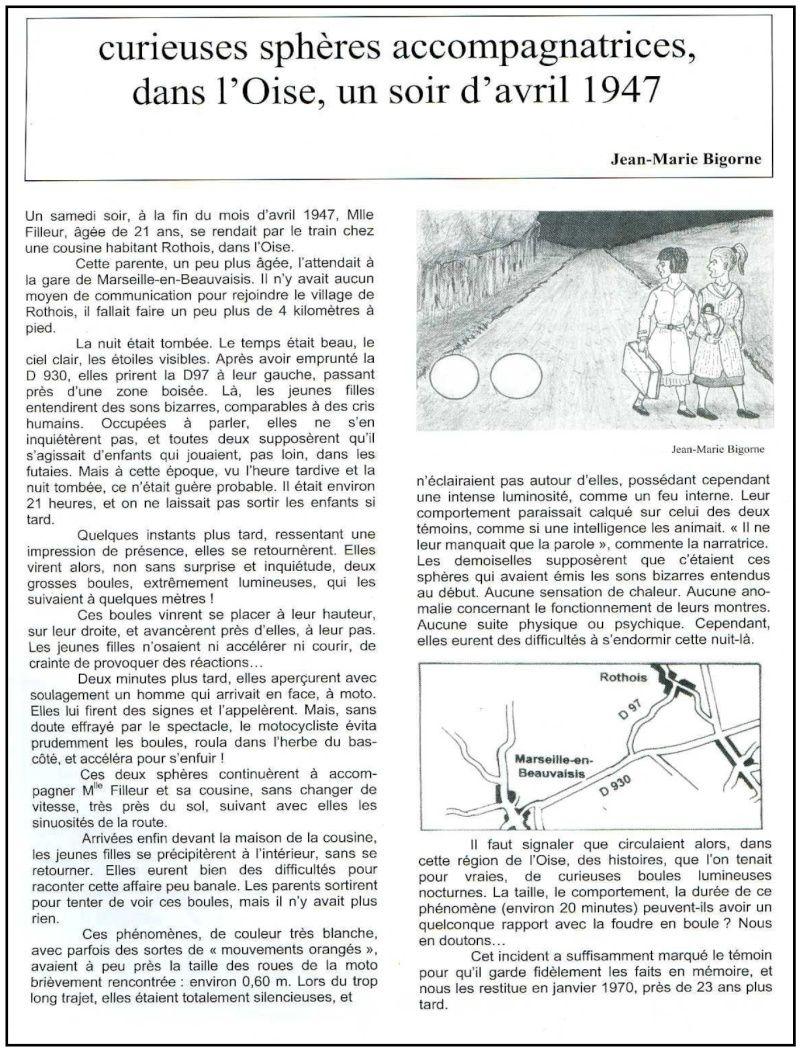 """""""Une hantise de boule lumineuses"""" Par Fernand Lagarde - Page 2 Sphyre10"""
