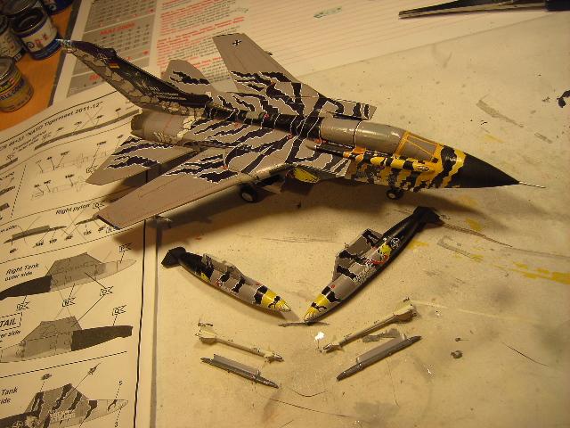 "Tornado ECR ""tigermeet 2011/12"" REVELL 1/72. Tornad12"